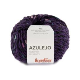 Katia Azulejo 401 Lila - Bleekrood - Hemelsblauw