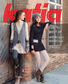 Katia The Best Of Merino Aran No. R-6 Herfst/Winter 2015-2016