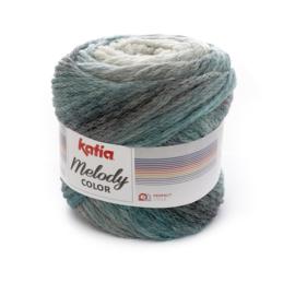 Katia Melody Color - 303 Parelmoer - Lichtgrijs - Turquoise