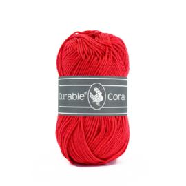 Durable Coral Katoen - 318 Tomato