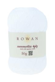Rowan Summerlite 4ply - 417 Pure White