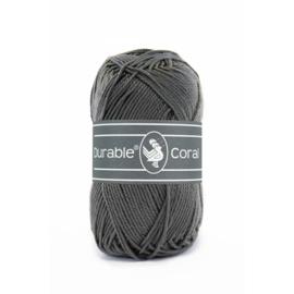Durable Coral Katoen - 2236 Charcoal