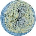 Katia Concept - Silk Degrade 304 Geel - Waterblauw - Grijs