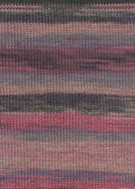 LANG Yarns - Milton 0028 Fuchsia - Beige - Bordeaux