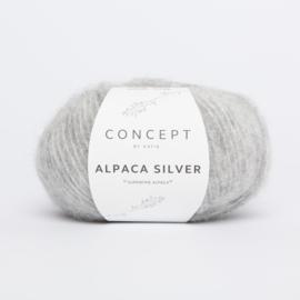 Katia Concept - Alpaca Silver - 255 Licht grijs-Zilver