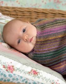 Donderdag 10-11-2016 LANG Yarns Mille Colori Baby deken