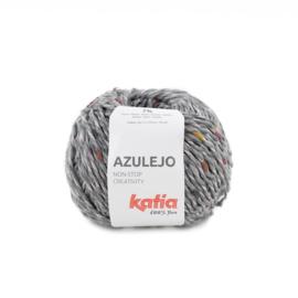Katia Azulejo 304 - Grijs - Licht Grijs - Roodoranje - Oker