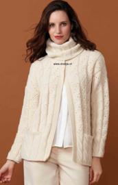 Katia Concept Cotton-Merino Vest en Kraag