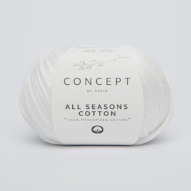 Katia Concept - All Seasons Cotton - 01 Wit