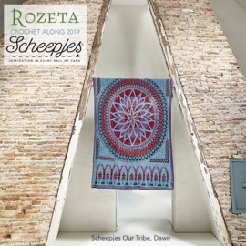 Scheepjes CAL2019 Rozeta Luxury Kit Our Tribe - Dawn