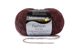 Schachenmayr Soft Mix met Baby Alpaca 00139 Bordeaux Degrade