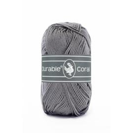 Durable Coral Katoen - 2235 Ash