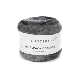 Katia Concept - Air Alpaca Degrade 68 Grijs
