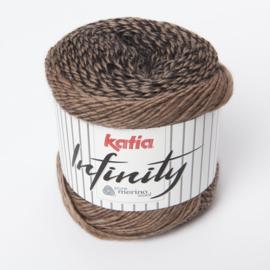 Katia Infinity - 105 Zwart-Reebruin