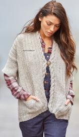 ROWAN Felted Tweed Aran Vest Bielby
