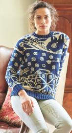 ROWAN Handknit Cotton Trui Spode