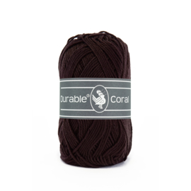 Durable Coral Katoen - 2230 Dark Brown