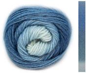 LANG Yarns - Jawoll Twin Socks 0506 Jeans