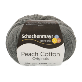 Schachenmayr - Peach Cotton 00198 Antraciet