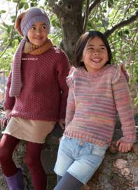 Katia Merino Shetland en Persa Kindertruien