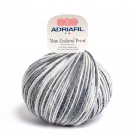 Adriafil - New Zealand Print - 50 Multicolour Grey Cream