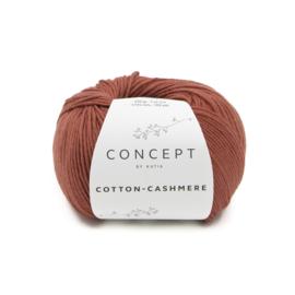 Katia Cotton Cashmere - 74 Roestbruin