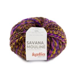 Katia Savana Mouline 202 Lila - Oranje - Geel