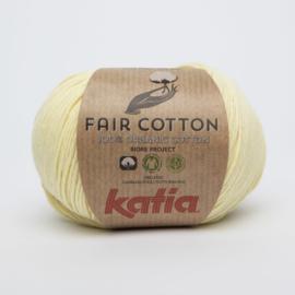 Katia Fair Cotton - 07 Licht Geel