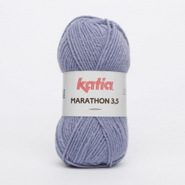 Katia Marathon 3.5 - 33 Staalblauw