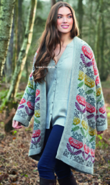 ROWAN Alpaca Soft DK Vest Moonflower