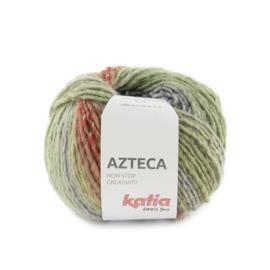 Katia Azteca 7881 Licht Groen - Licht Paars