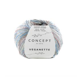 Katia Concept - Veganette 104 Wijnrood-Steengrijs-Blauw