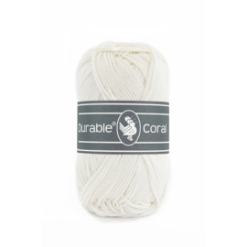 Durable Coral Katoen - 326 Ivory