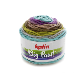 Katia Big Paint - 204 Groen - Lila