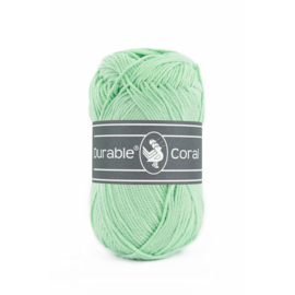 Durable Coral Katoen - 2136 Light Mint