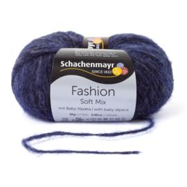 Schachenmayr Soft Mix met Baby Alpaca 00050 Indigo