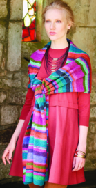 Donderdag 18-10-2018 Rowan Felted Tweed Sjaal Vibrant Stripe