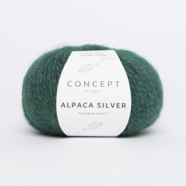 Katia Concept - Alpaca Silver - 261 Flessengroen-Zilver