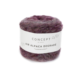 Katia Concept - Air Alpaca Degrade 61 Bleekrood