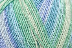 Katia Jaipur Socks - 55 Blauw-Groen