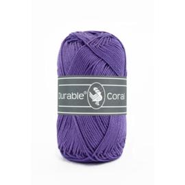 Durable Coral Katoen - 357 Indigo