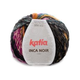 Katia Inca Noir - 355 Lila-Oker-Zwart