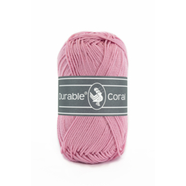 Durable Coral Katoen - 224 Old Rose