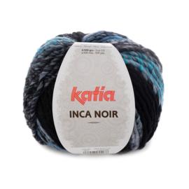 Katia Inca Noir - 352 Blauw-Zwart