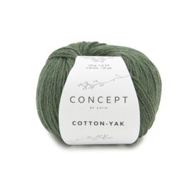 Katia Concept - Cotton-Yak - 125 Flessengroen