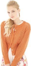 ROWAN Handknit Cotton Vest Honeycomb