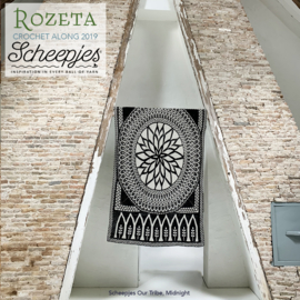 Scheepjes CAL2019 Rozeta Luxury Kit Our Tribe - Midnight