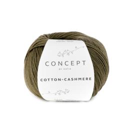 Katia Cotton Cashmere - 71 Kaki