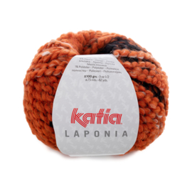 Katia Laponia - 200 Oranje-Ecru-Zwart