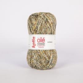 Katia Komfort Tweed - 54 Groen-Saffraangeel-Bruin